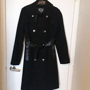 VERY GOOD Condition wool blend coat